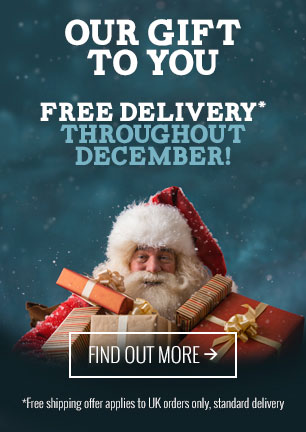 Free delivery throughout December